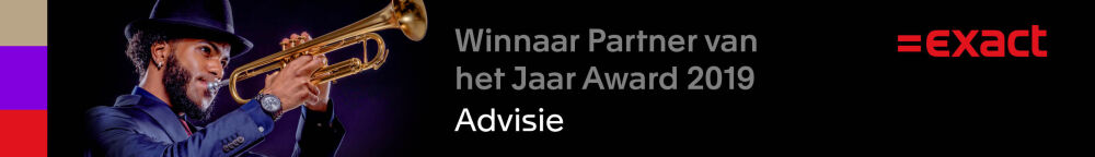 Advisie winnaar van de Partner of the Year 2019 Award